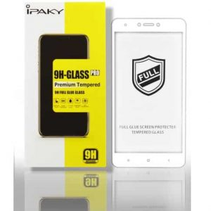 Защитное стекло 3D (5D) Perfect Glass Full Glue Ipaky на весь экран для Meizu M6 – White