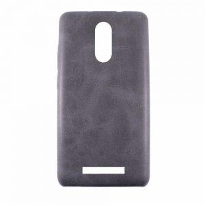 Кожаный чехол-накладка True Leather для Xiaomi Redmi Note 3 / 3 Pro – Black
