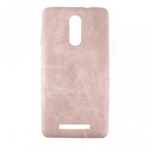 Кожаный чехол-накладка True Leather для Xiaomi Redmi Note 3 / 3 Pro – Cream