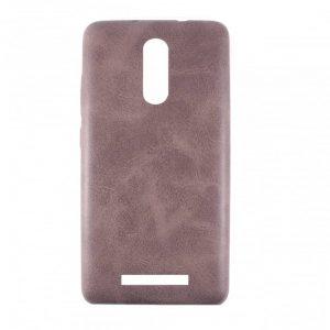 Кожаный чехол-накладка True Leather для Xiaomi Redmi Note 3 / 3 Pro – Brown