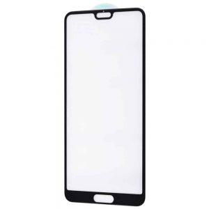 Защитное стекло 5D Premium 9H Full Glue на весь экран для Huawei P20 – Black