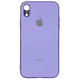 Чехол TPU Matte LOGO для Iphone XR – Фиолетовый / Lilac