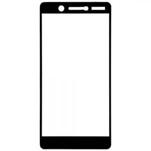 Защитное стекло 3D (5D) Tempered Glass Full Glue Cover на весь экран для Nokia 7 – Black