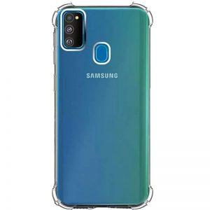 Чехол TPU GETMAN Ease с усиленными углами для Samsung Galaxy M30s / M21 – Clear