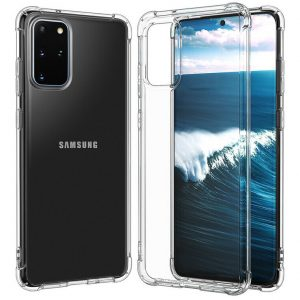 Чехол TPU GETMAN Ease с усиленными углами для Samsung Galaxy S20 Plus – Clear