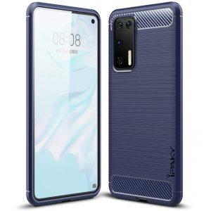 Силиконовый чехол Ipaky Slim Series для Huawei P40 – Синий