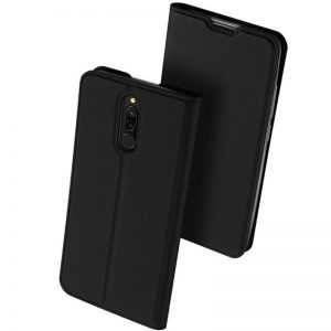 Чехол-книжка Dux Ducis с карманом для Xiaomi Redmi 8 / 8A – Черный