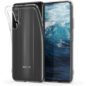 Прозрачный силиконовый TPU чехол для Huawei Honor 20 / Nova 5T