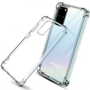 Чехол TPU GETMAN Ease с усиленными углами для Samsung Galaxy S20 – Clear