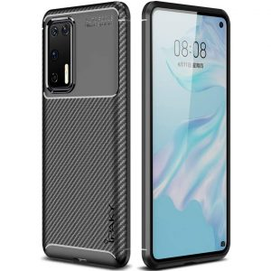 Силиконовый чехол Ipaky Kaisy Series для Huawei P40 – Черный