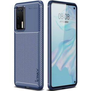 Силиконовый чехол Ipaky Kaisy Series для Huawei P40 – Синий