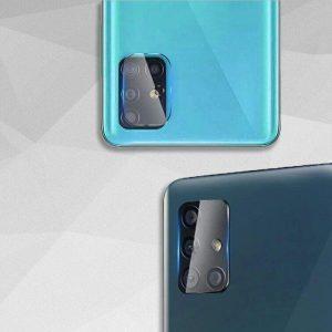 Защитное стекло на камеру для Samsung Galaxy A71 / M51