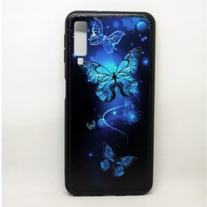 Чехол TPU Night Case для Samsung Galaxy A7 2018 A750 – Бабочки