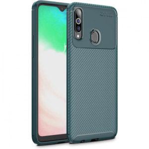 Силиконовый чехол Kaisy Series для Samsung Galaxy A20s 2019 (A207) – Зеленый