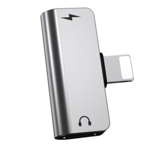 Адаптер Hoco LS24 Lightning to 2x Lightning – Silver