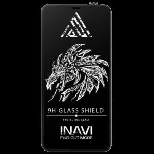 Защитное стекло 3D (5D) Inavi Premium на весь экран для Iphone 6 / 6s — Black