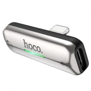 Адаптер Hoco LS27 Lightning to 2x Lightning – Silver