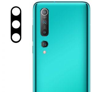 Гибкое защитное стекло 0.18mm на камеру для Xiaomi Mi 10 / Mi 10 Pro – Black
