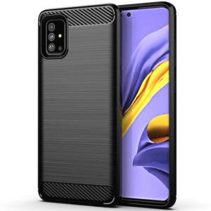 Cиликоновый TPU чехол Slim Series для Samsung Galaxy A71 – Черный
