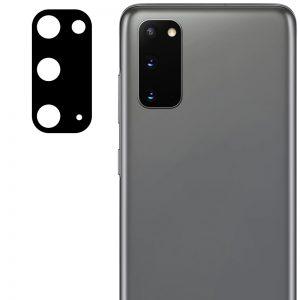 Гибкое защитное стекло 0.18mm на камеру для Samsung Galaxy S20 – Black