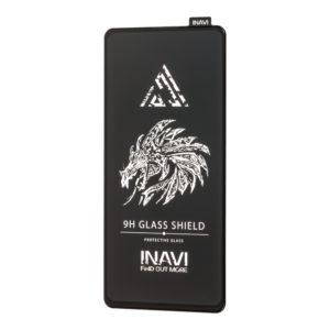 Защитное стекло 3D (5D) Inavi Premium на весь экран для Xiaomi Redmi K20 / K20 Pro / Mi 9T / Mi 9T Pro — Black