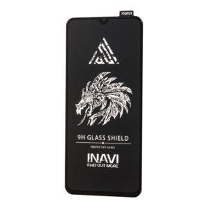 Защитное стекло 3D (5D) Inavi Premium на весь экран для Xiaomi Mi 9 Lite / Mi CC9 — Black