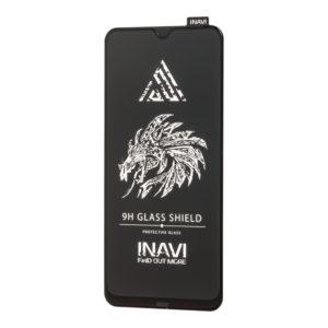 Защитное стекло 3D (5D) Inavi Premium на весь экран для Samsung Galaxy A20 / A30 / A30s / A50 / M30s / M31 / M21 — Black