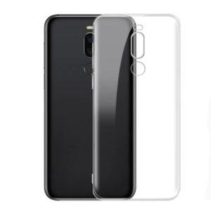 Прозрачный силиконовый TPU чехол для Meizu X8