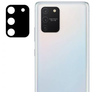 Гибкое защитное стекло 0.18mm на камеру для Samsung Galaxy S10 lite – Black