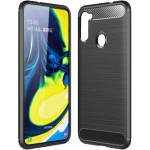 Cиликоновый TPU чехол Slim Series для Samsung Galaxy A21 – Черный