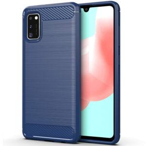 Cиликоновый TPU чехол Slim Series для Samsung Galaxy A41 – Синий