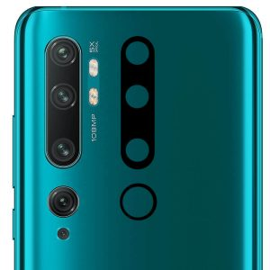 Гибкое защитное стекло 0.18mm на камеру для Xiaomi Mi Note 10 / 10 Pro – Black