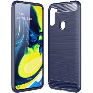 Cиликоновый TPU чехол Slim Series для Samsung Galaxy A21 – Синий