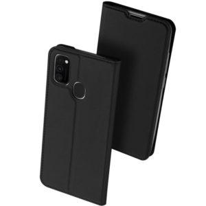 Чехол-книжка Dux Ducis с карманом для Samsung Galaxy M30s / M21 — Черный