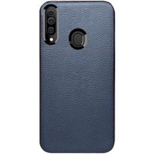 Кожаный чехол Epic Vivi series для Samsung Galaxy A20s 2019 (A207) – Синий