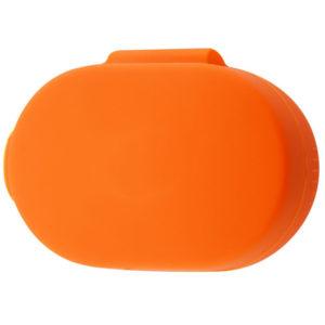 Чехол для наушников Silicone Case для Xiaomi AirDots – Оранжевый