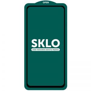 Защитное стекло 3D (5D) Perfect Glass Full Glue SKLO на весь экран для Xiaomi Redmi Note 9s / Note 9 Pro / Note 9 Pro Max – Black
