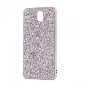 Чехол Shining Corners With Sparkles для Meizu M6 – Silver