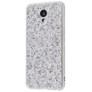 Чехол Shining Corners With Sparkles для Meizu M6s – Silver