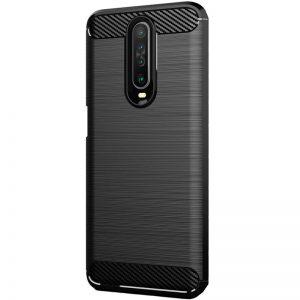 Cиликоновый TPU чехол Slim Series для Xiaomi Redmi K30 – Черный