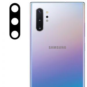 Гибкое защитное стекло 0.18mm на камеру для Samsung Galaxy Note 10 / Note 10 Plus – Black