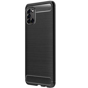 Cиликоновый TPU чехол Slim Series для Samsung Galaxy A31 – Черный