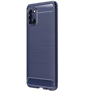 Cиликоновый TPU чехол Slim Series для Samsung Galaxy A31 – Синий