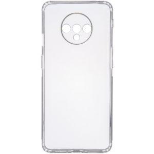 Прозрачный силиконовый TPU чехол GETMAN для OnePlus 7T