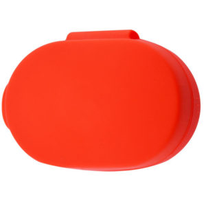 Чехол для наушников Silicone Case для Xiaomi AirDots – Красный