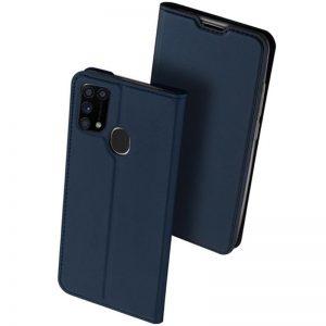 Чехол-книжка Dux Ducis с карманом для Samsung Galaxy M31 — Синий