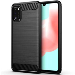Cиликоновый TPU чехол Slim Series для Samsung Galaxy A41 – Черный