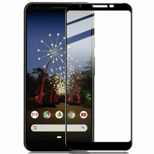 Защитное стекло 3D (5D) Full Glue Armor Glass на весь экран для Google Pixel 3a – Black