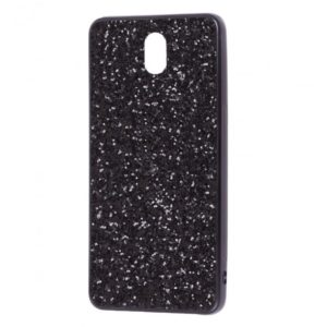 Чехол Shining Corners With Sparkles для Meizu M6 – Black