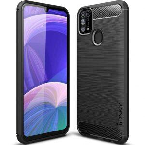 Силиконовый чехол Ipaky Slim Series для Samsung Galaxy M31 – Черный